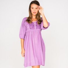 Ella mauve dress