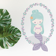 Mermaid Lavender With Wreath