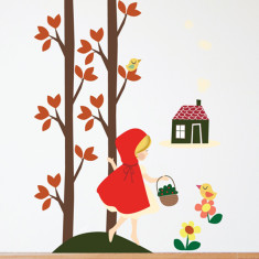 Riding Hood Removable Wall Sticker