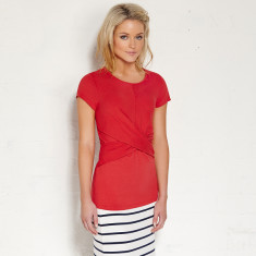 Clovelly top in watermelon