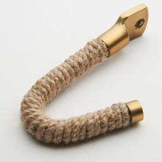 Jute rope hook