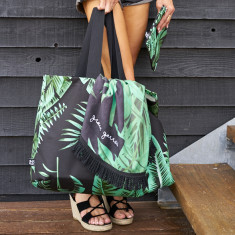 Banana Palms Beach Bag