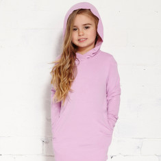 Hopscotch dress in  orchid