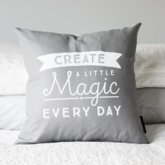 Create a little magic cushion cover