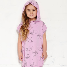 Hide and seek hoodie in orchid