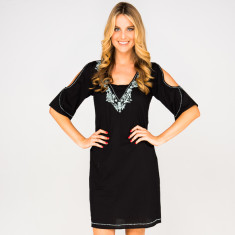 Tam dress in black