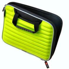 iPad case in acid green
