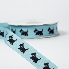 Scottie Dog Ribbon