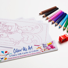 Fairy cards and pencil pack