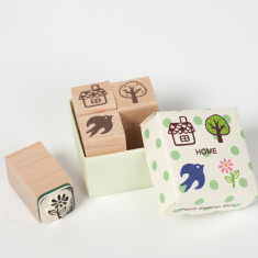 Petit Stamp Set - Home