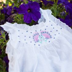 Girls' peacock nightie
