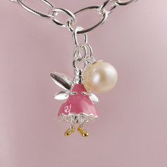 Fairy Bracelet (pink, white or gold vermeil)