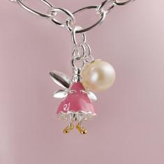Fairy Bracelet (pink, white or gold vermeil)