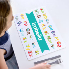 Personalised Alphabet Placemat