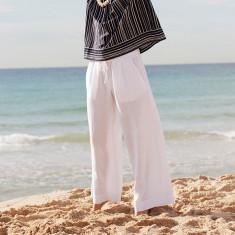 Tork drawstring linen trouser