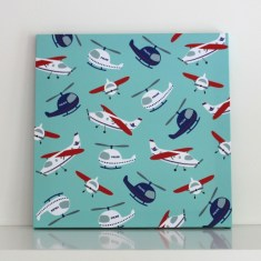 Air emergency wall canvas