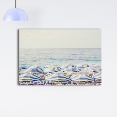French Riviera ready to hang canvas art