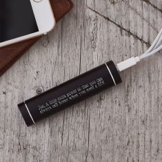 Personalised portable charger