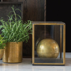 Raw Brass Display Box