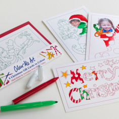 Christmas card making kit