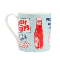 Fish & chips mug