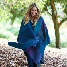 Serena blanket poncho