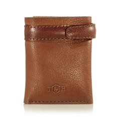 Mens Leather Tri-Fold Wallet