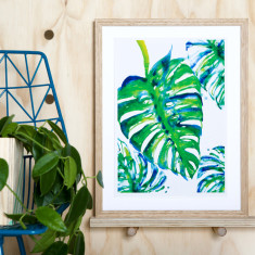 Jungle print archival art