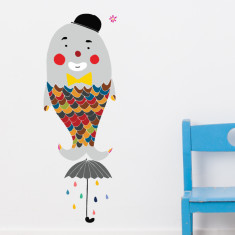 Bozo Fish Wall Sticker