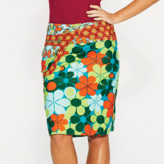 Rosanna Skirt - Retro Floral Print