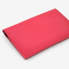 Red Billie business card holder
