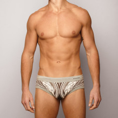 Men's brief in wild west