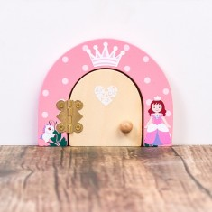 Personalised princess magical fairy door