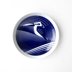 Australian Bird Emblems: Laughing Kookaburra  plate