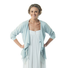 Ursa cardigan in sky blue