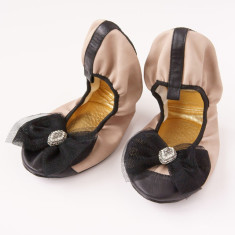 Diffusion ballet pumps in The Royal Ballet Aurora