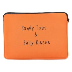 Sandy toes laptop case