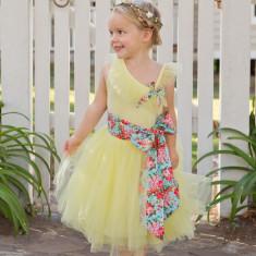 Belle lemonade dress