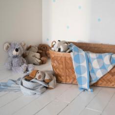 Minni Kids' Blanket Light Blue