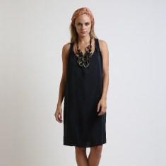 Issy meet me later back flare dress