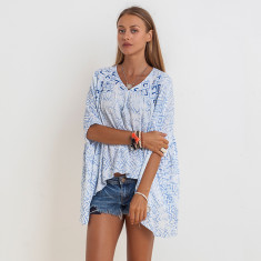 Chloe Sasak Top In Blue