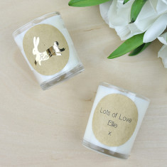 Personalised Bunny Rabbit Candle