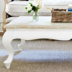 French style coffee table