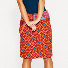 Rosanna Skirt - Geo Star Print