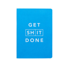 Get Sh*t Done Classic Notebook A6 - Blue