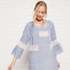 Veerle linen dress