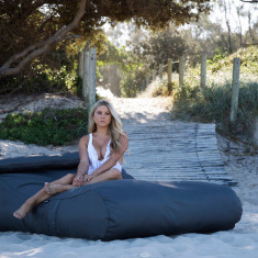 Islander daybed resort-style outdoor beanbag cover