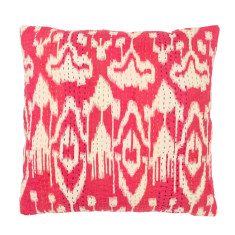 Ikat print cushion cover (various colours)