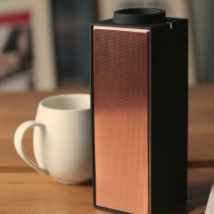 Native Union switch portable bluetooth speaker in limited edition black/copper
