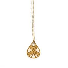 Gold Luna Pendant